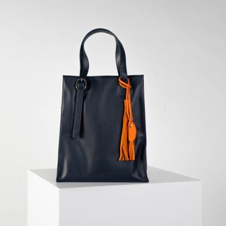 Opus laptop tote in navy