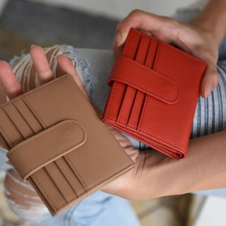 Light tan Pacto leather wallet